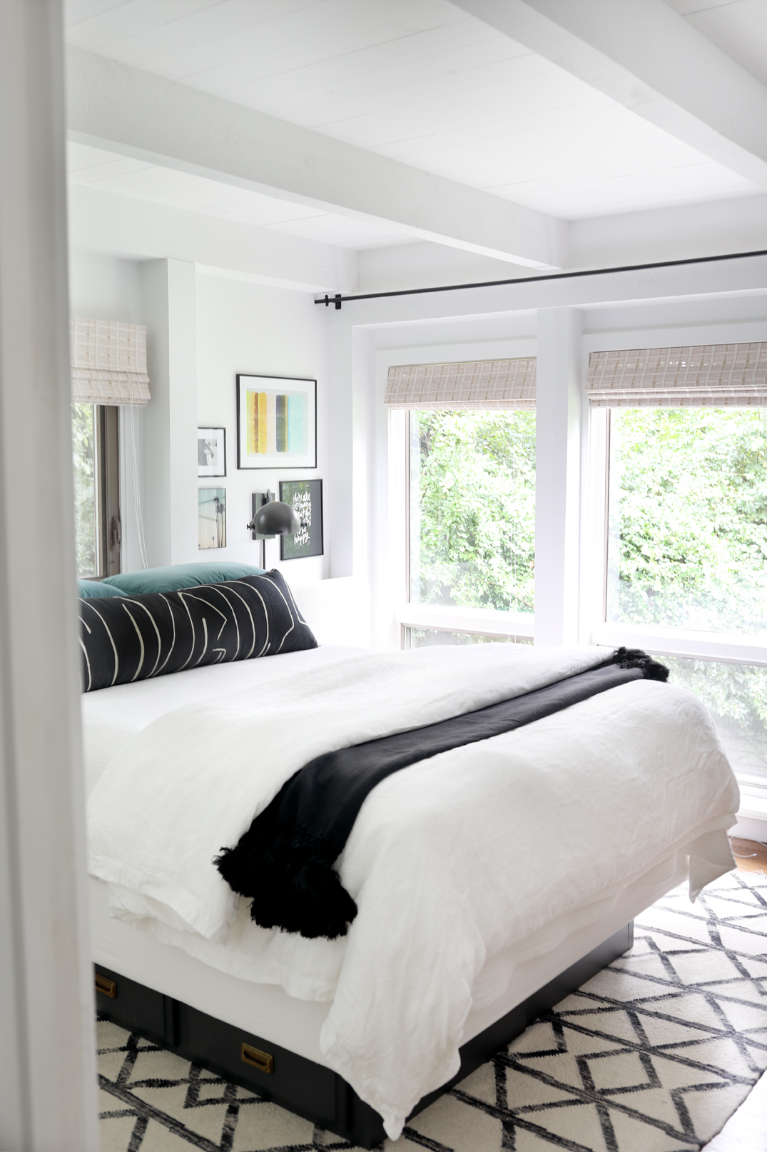 National Make Your Bed Day Crane Canopy Our Guest Room Dorsey Designs