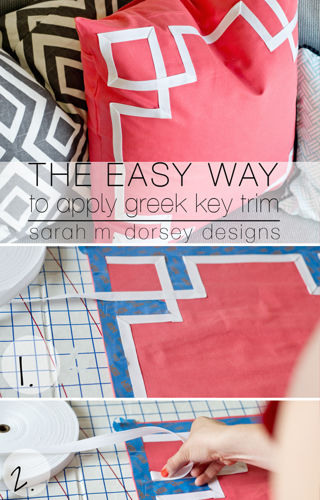 The Easy Way To Ly Greek Key Trim Dorsey Designs
