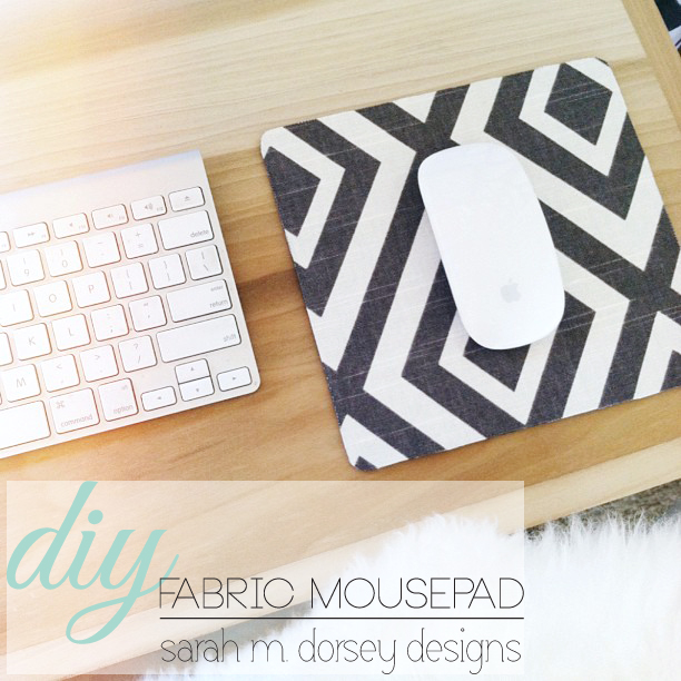 Diy In 1 Hour Or Less Fabric Mousepad