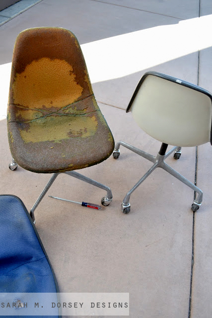 eames chairs finished finally for now dorsey designs