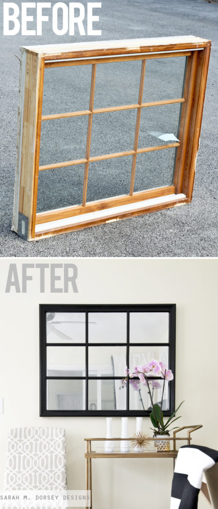 Cool Spray Paint Ideas That Will Save You A Ton Of Money Mirror Effect