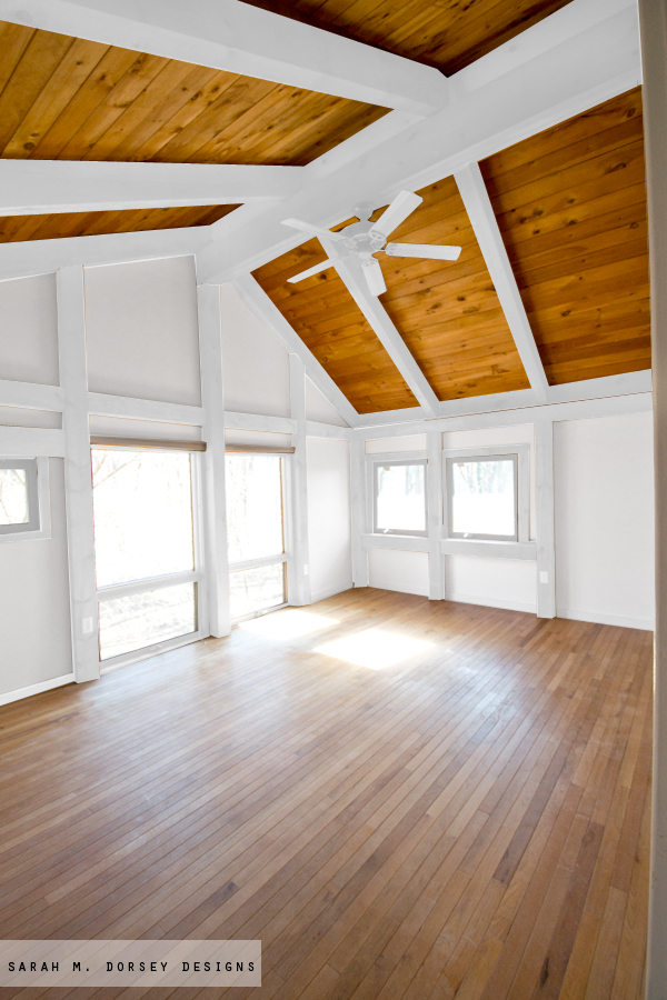 Painting Wood Ceiling Beams White New Images Beam