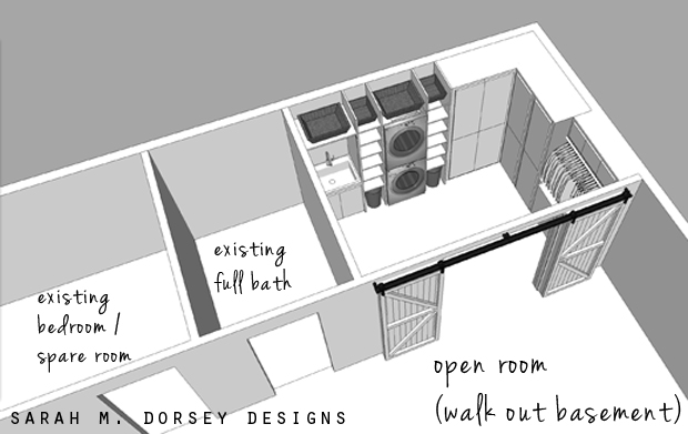 Laundry Room Plans Dorsey Designs