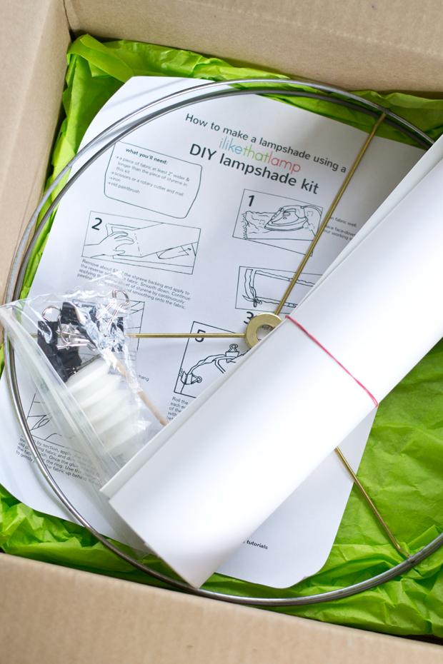 Foo Dog Lamp + DIY Lampshade Kit - Dorsey Designs
