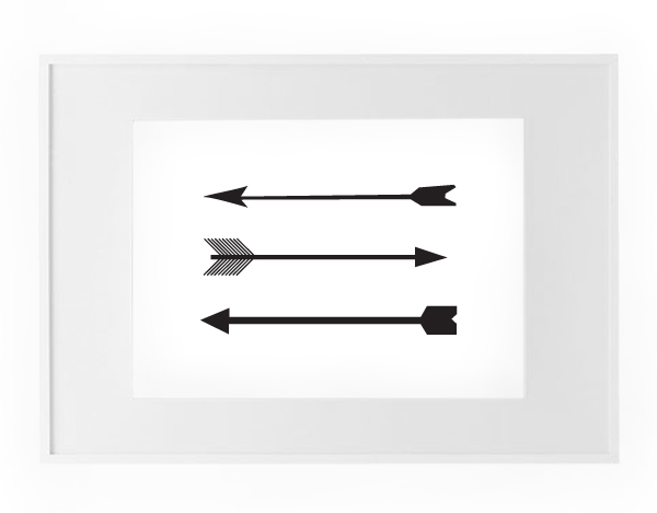 picture about Free Printable Arrows named Humpday Giveaway Cost-free Printable - Dorsey Styles