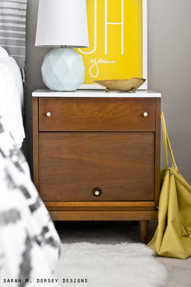 Night Stand Designs : Mid century modern nightstand dorsey designs