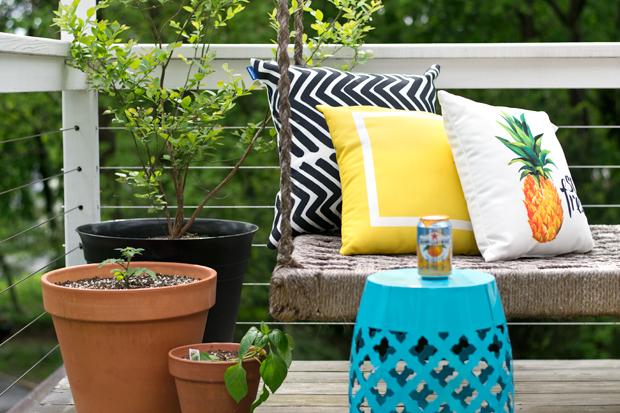 Swell Michaels Garden Stool Coshocton Creativecarmelina Interior Chair Design Creativecarmelinacom